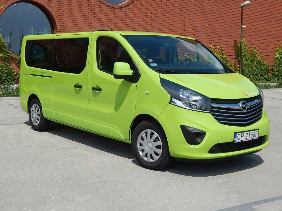 Opel Vivaro Long 9 osobowy