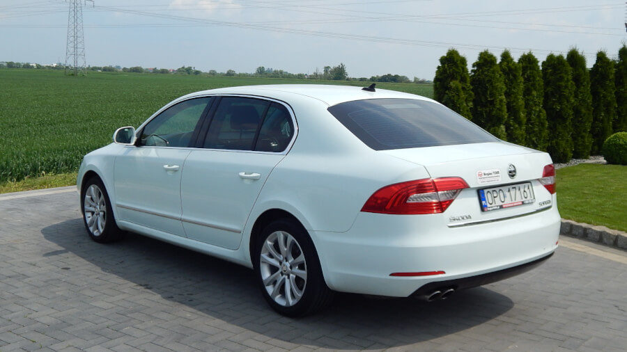 Skoda SuperB II Sedan